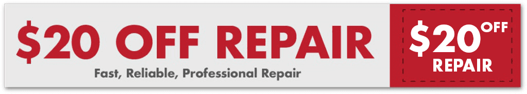$20 off repair service coupone